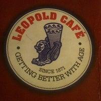 Photo taken at Leopold Café by Dipti A. on 4/5/2012
