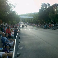 Photo taken at Main Street In Cooperstown, NY by Jeff D. on 7/21/2012