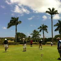 Photo taken at Olomana Golf Links by Nathan K. on 5/31/2012