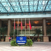 Photo taken at Sheraton Saigon Hotel & Towers by 7056161k0 H. on 4/29/2012