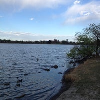 Photo taken at Sloan's Lake Park by Michael D. on 4/22/2012