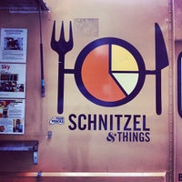 Photo taken at Schnitzel & Things by Ron V. on 4/9/2012
