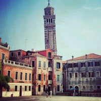 Photo taken at Campo San Stefano by Dmitry NP on 6/7/2012
