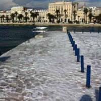 Photo taken at Lučka kapetanija Split by Daff on 2/20/2012