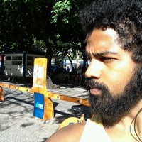 Photo taken at BikeRio - Estação 40 Largo do Machado by Paulo R. on 8/16/2012