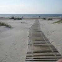 Photo taken at Liepājas pludmale / Liepaja Beach by Domenika O. on 9/11/2012