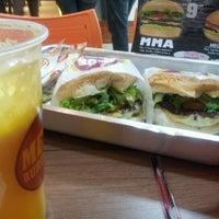 Photo taken at Mega Burger's by Gustavo S. on 5/29/2012