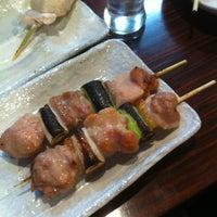 Photo taken at 焼き鳥 YaYa by Takahiro M. on 4/8/2012