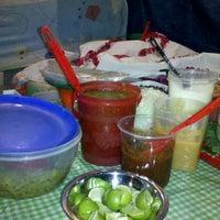 Photo taken at Quesadillas Doña Ade by Letia M. on 4/24/2012
