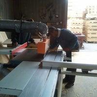 Photo taken at austin pallet company by Sheldon W. on 2/23/2012