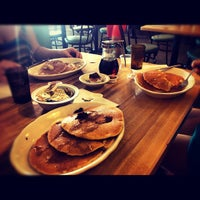 Photo taken at Mr. John's Pancake House by Tatiana C. on 8/12/2012