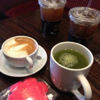 Photo taken at Cafe Americano by Juyeon B. on 5/13/2012