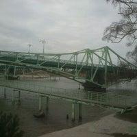 Photo taken at O.Kalpaka (Karostas) tilts by Mārtiņš K. on 4/6/2012