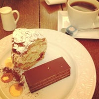 Photo taken at patisserie Mont Plus by Tomomi on 3/4/2012
