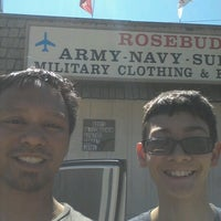 Photo taken at Rosebuds Army Surplus by Joewe M. on 6/19/2012