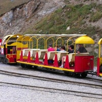 Photo taken at Le Petit Train d'Artouste by Juan S. on 8/19/2012