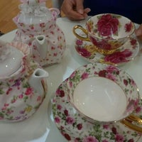 Photo taken at Victoria Rossa English Tea Room by Wilfred T. on 5/25/2012