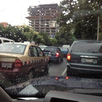 Photo taken at Av. Río Mixcoac by Veronica O. on 8/10/2012