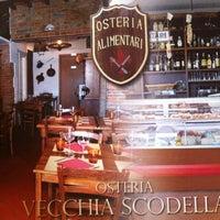 Photo taken at Osteria Vecchia Scodella by Federico on 8/8/2012