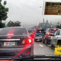 Photo taken at Tandang Sora Overpass by rij t. on 8/12/2012