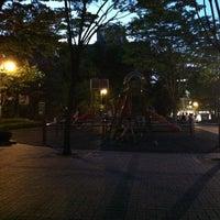 Photo taken at 충현1공원 by Seulgi K. on 6/20/2012