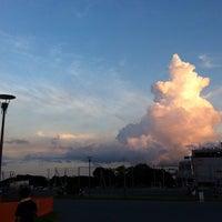 Photo taken at 東扇島東公園 by ひで on 9/8/2012