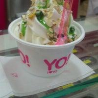 Photo taken at YO! yogurteria by Vincenzo D. on 7/22/2012