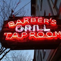 Photo taken at Barbers Grill And Taproom by Jack S. on 4/6/2012