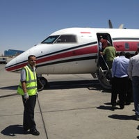 Photo taken at Petroleum Air Servecis Abron by Hazem A. on 4/17/2012