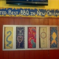 Photo taken at VooDoo BBQ & Grill Uptown by Rick G. on 7/1/2012