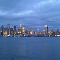 Photo taken at Weehawken Waterfront Park and Recreation Center by Hot Dog H. on 6/27/2012