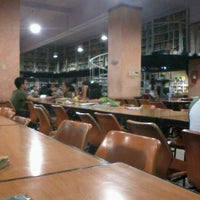 Photo taken at University of San Jose - Recoletos Library by Vans T. on 7/4/2012