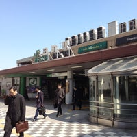 Photo taken at Tamachi Station by Tokuhide G. on 3/15/2012