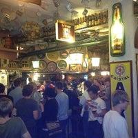 Photo taken at Delirium Café by Kris V. on 7/30/2012