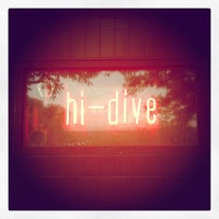 Photo taken at Hi-Dive by Ben D. on 5/20/2012