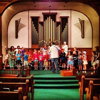 Photo taken at First United Methodist Church by Adam W. on 7/19/2012