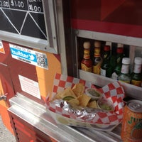 Photo taken at Zoca: Taco + Burrito Truck by TJ K on 7/18/2012
