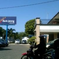 Photo taken at Bank Jateng Cabang Cilacap by Pandu B. on 7/25/2012