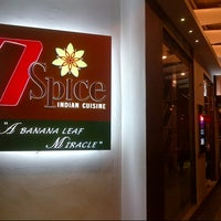 Photo taken at 7 Spice Indian Cuisine by Zahar J. on 8/18/2012