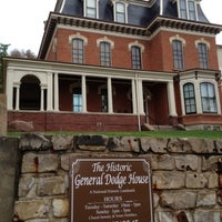 Photo taken at General Dodge House by Emilie A. on 8/18/2012