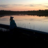 Photo taken at Arsenault's Pond by Chrissy A. on 4/13/2012