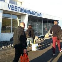 Photo taken at Flugvöllur Vestmannaeyjar by María K. on 8/5/2012