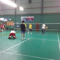 Photo taken at 99 Badminton Court by Bung Y. on 9/11/2012