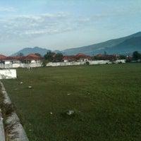 Photo taken at Lapangan Soekrisno by @~$usprih@di on 2/26/2012