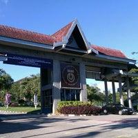 Photo taken at Universiti Teknologi Malaysia (UTM) by muzhaffar a. on 4/27/2012