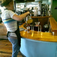 Photo taken at Bloom Coffee & Tea by Broomstacking on 9/1/2012