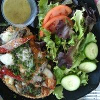Photo taken at La Farm Bakery by Sarah B. on 6/12/2012