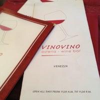 Photo taken at Vinovino by William v. on 4/25/2012