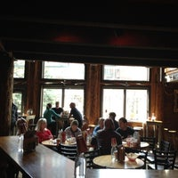 Photo taken at Mangy Moose Restaurant and Saloon by Amy A. on 4/4/2012