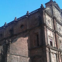 Photo taken at Basilica of Bom Jesus by Alap M. on 5/6/2012